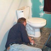 Монтаж тоалетна